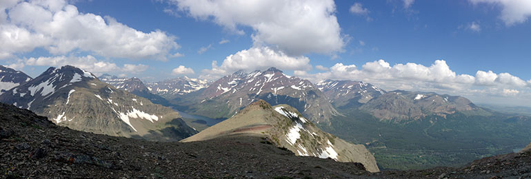 Scenic Point, Glacier National Park, July 2014